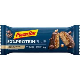 PowerBar ProteinPlus 30% Bar Caja 15x55g, Cappuccino Caramel Crisp